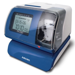 Amano PIX-200 Electronic Time Recorder / Stamp