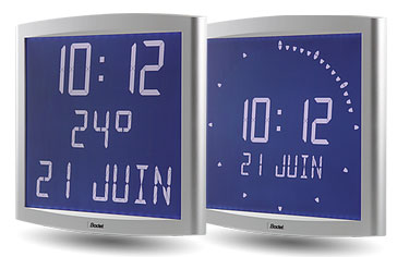 LCD Digital Clocks - Opalys Range