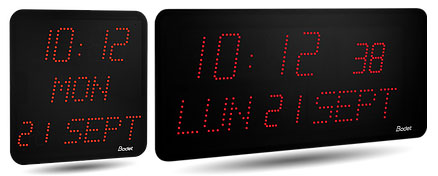 LED Digital Clocks - Style Range
