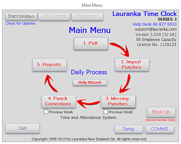 Lauranka Time Clock Software 01