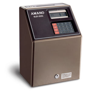 Amano MJR-8000 Computerised Time Recorder